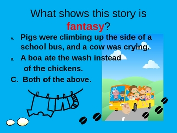 The Day Jimmy's Boa Ate the Wash ANIMATED Comprehension Powerpoint