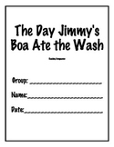 The Day Jimmy's Boa Ate the Wash Reading Companion