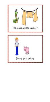 The Day Jimmy's Boa Ate the Wash Sequence Cards
