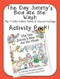 The Day Jimmy's Boa ate the Wash Activity Pack (by: Trinka
