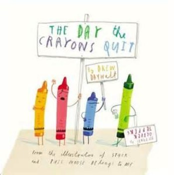 The Day Our Crayons Quit - Color Theory lesson & graphic o