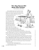 The Day Pecos Bill Rode Old Twister: An American Tall Tale (Lexile 1060)