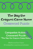 The Day The Crayons Came Home Companion Activity