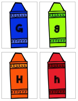 The Day The Crayons Quit Literacy Stations