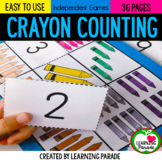 CRAYON COUNTING: Number Sense Activities (0-10)