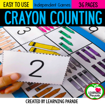 The Day The Crayons Quit: Kindergarten Math Activities