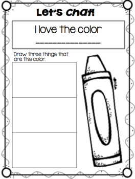 Craft and Activities for The Day the Crayons Quit!