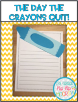 Color Activities With The Day The Crayons Quit!