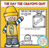 The Day The Crayons Quit...Book Companion...Color Activities!