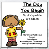 The Day You Begin: Interactive Read Aloud Lesson with Comp