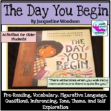 The Day You Begin by Jacqueline Woodson Read Aloud Activities