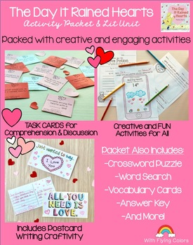 The Day it Rained Hearts Activity Packet