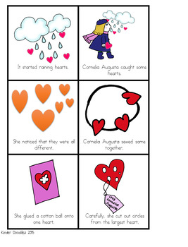 The Day it Rained Hearts Literacy Activities