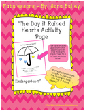 The Day it Rained Hearts Math Activity