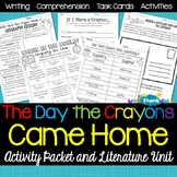 The Day the Crayons Came Home Activity Packet