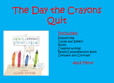 The Day the Crayons Quit Activity Bundle