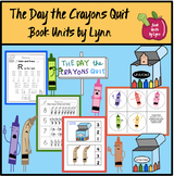 The Day the Crayons Quit Book Unit