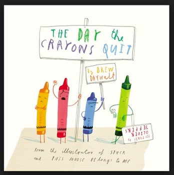 The Day the Crayons Quit - Favorite Crayon Color - Activity and Success Criteria