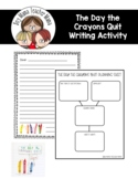 The Day the Crayons Quit Letter Writing Activity