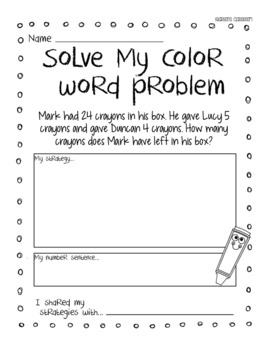 The Day the Crayons Quit Math & Literacy Unit - UK & Australian Version