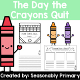The Day the Crayons Quit   Persuasive Writing Activities a