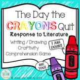 The Day the Crayons Quit - RTL & Comprehension Game