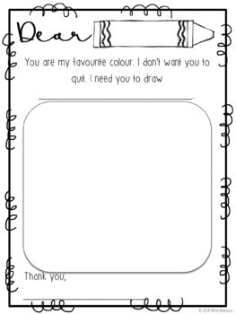 The Day the Crayons Quit (Reading Response)