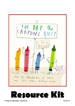 The Day the Crayons Quit - Resource Kit
