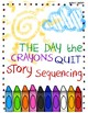 The Day the Crayons Quit Story Sequencing Literacy Center