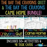The Day the Crayons Quit & The Day the Crayons Came Home BUNDLE!