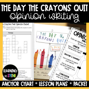 The Day the Crayons Quit Writing