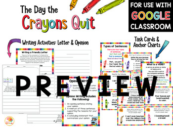 The Day the Crayons Quit and The Day the Crayons Came Home