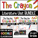 The Day the Crayons Quit and The Day the Crayons Came Home BUNDLE