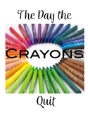 The Day the Crayons Quit original music performance program
