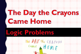 The Day the Crayons Went Home: Solving Logic Problems