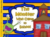 The Monster Who Came to School Reader & Activities