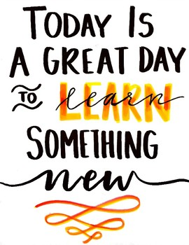 The Day to learn