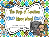 The Days of Creation Story Wheel {FREEbie}
