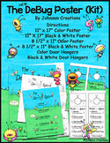 The DeBug System Poster Kit- One School License