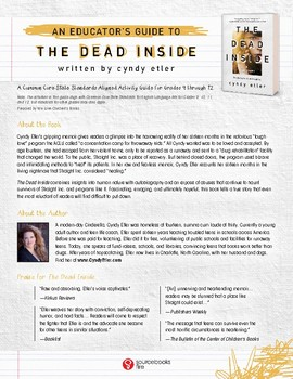 The Dead Inside & We Can't Be Friends — Educator & Discussion Guides