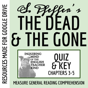 The Dead and the Gone Quiz (Chapters 3-5)
