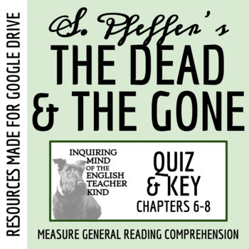 The Dead and the Gone Quiz (Chapters 6-8)