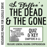 The Dead and the Gone Quiz (Chapters 9-11)