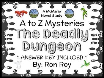 The Deadly Dungeon : A to Z Mysteries (Ron Roy) Novel Stud