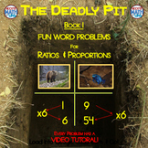 The Deadly Pit - Using T-Charts to solve ratio & proportions
