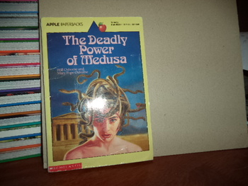 The Deadly Power of Medusa ISBN 0-590-45580-X