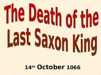 The Death of Harold Godwinson 1066 Activity Pack