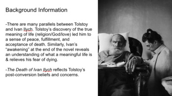 The Death of Ivan Ilych PowerPoint