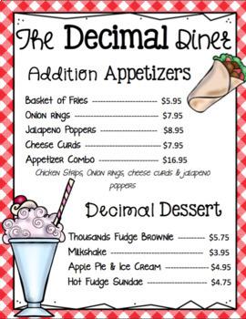 The Decimal Diner