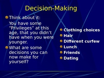 The Decision-Making Model